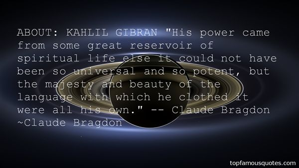 Quotes About Gibran