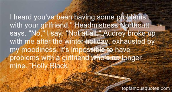 Quotes About Girlfriend Problems