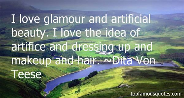 Quotes About Glamour And Beauty