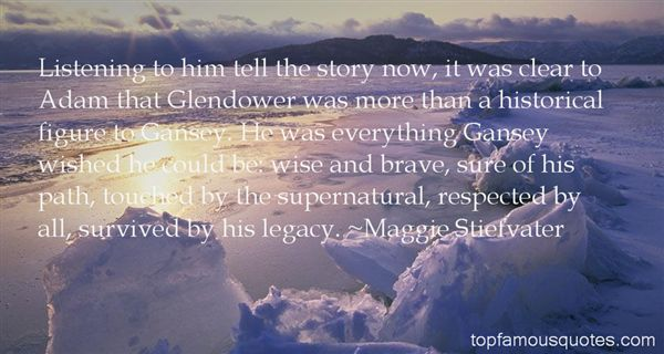 Quotes About Glendower