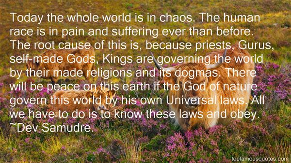 Quotes About God And Nature