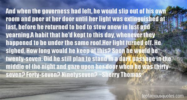 Quotes About Governess