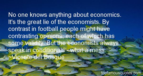 Quotes About Great Economists