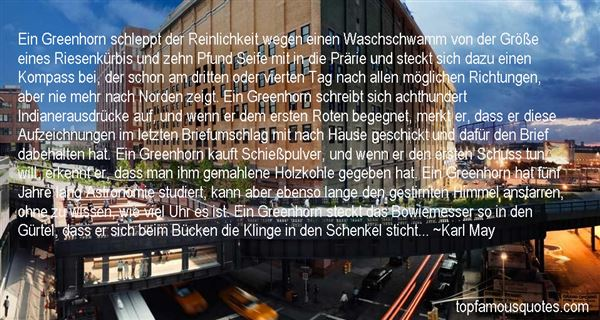 Quotes About Greenhorn
