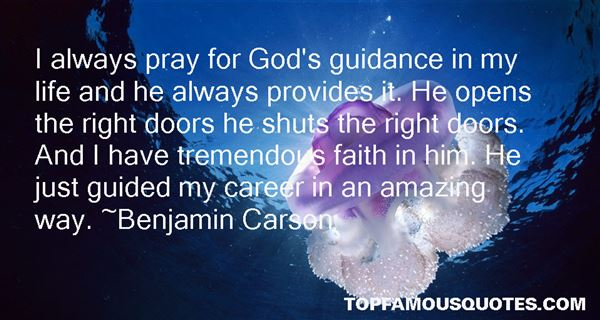 Quotes About Guidance And Faith