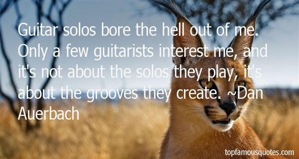 Quotes About Guitarist