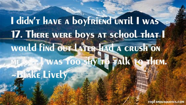 Quotes About Have A Crush
