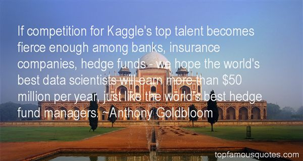 Quotes About Hedge Funds