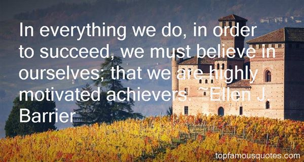 Quotes About High Achievers