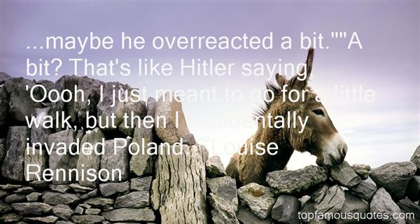 Quotes About Hitler