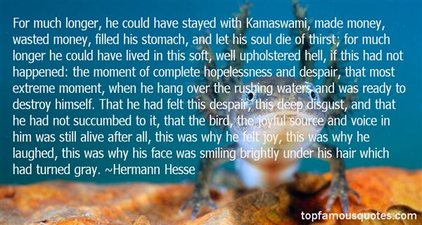 Quotes About Hopelessness And Despair