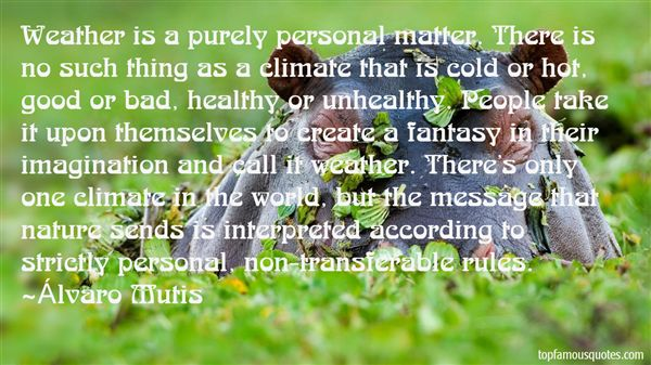 Quotes About Hot Climate