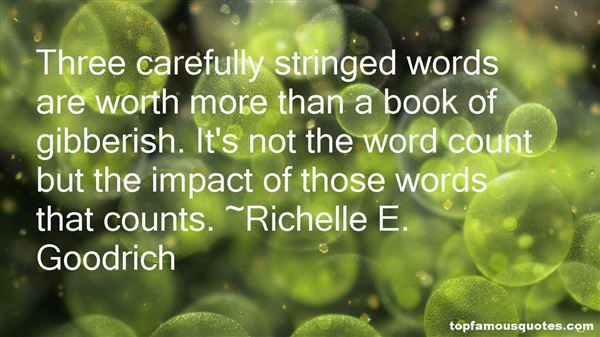 Quotes About Impact Of Words