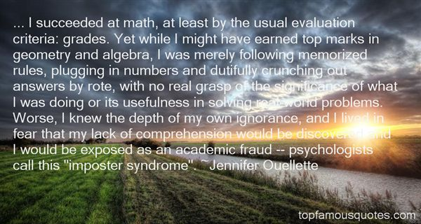 Quotes About Imposter Syndrome