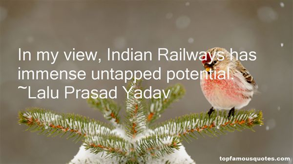 Quotes About Indian Railways