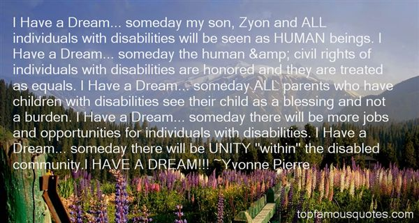 Quotes About Individuals With Disabilities
