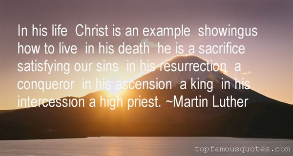 Quotes About Intercession