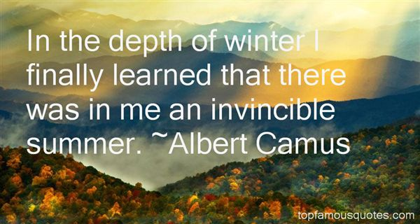 Quotes About Invincible Summer