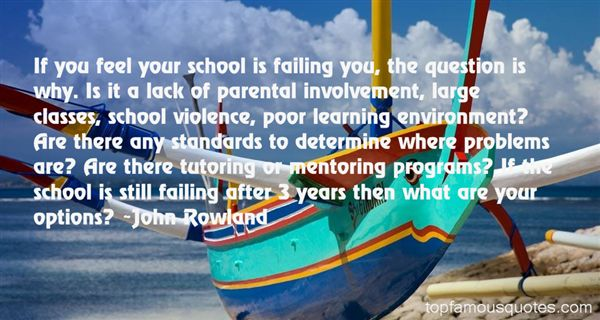 Quotes About Involvement In School