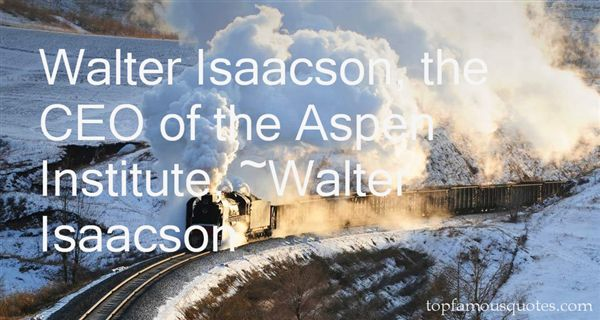 Quotes About Isaacson