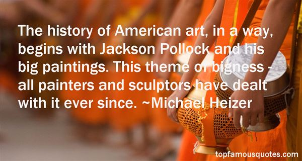 Quotes About Jackson Pollock