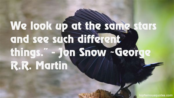 Quotes About Jon Snow