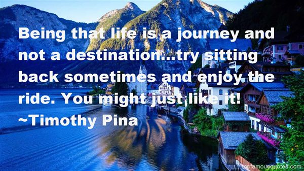Quotes About Journey And Destination