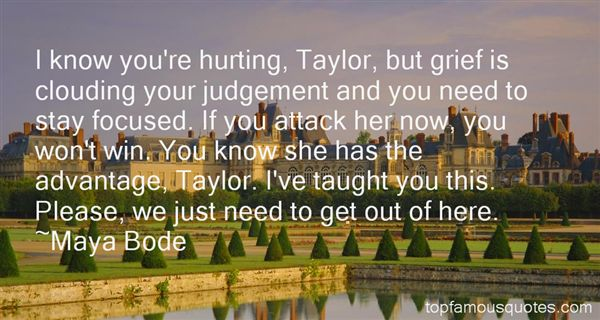Quotes About Judge Taylor