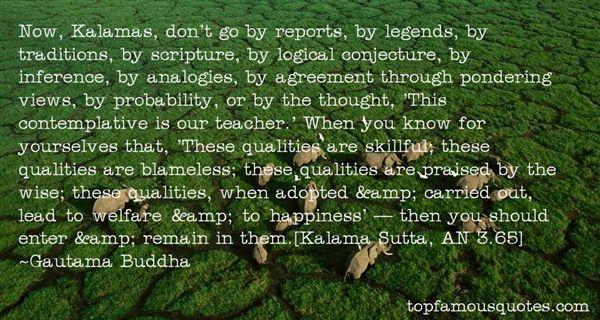Quotes About Kalamas