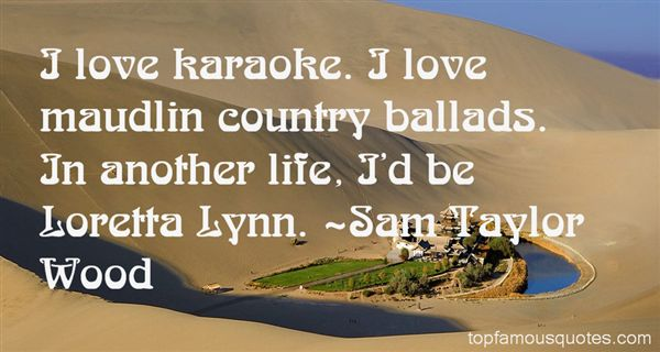 Quotes About Karaoke
