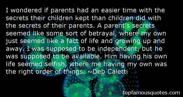 Quotes About Kept Secrets
