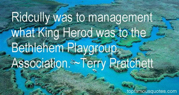Quotes About King Herod