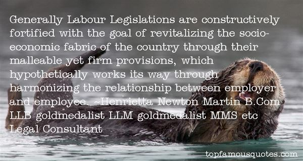 Quotes About Labour Relations