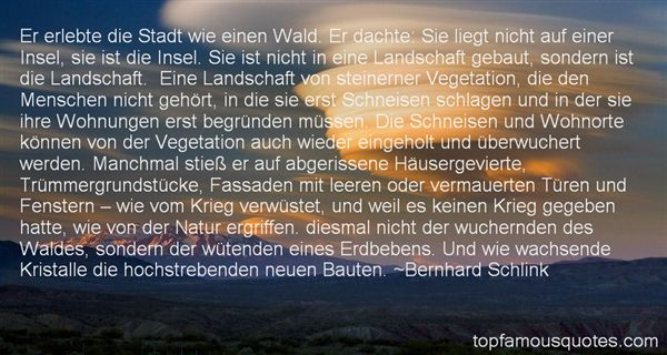 Quotes About Landschaft