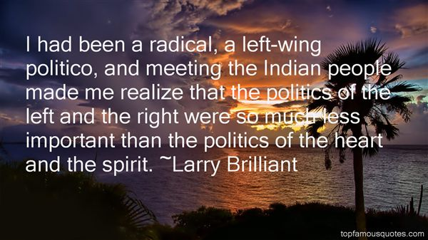 Quotes About Left Wing Politics