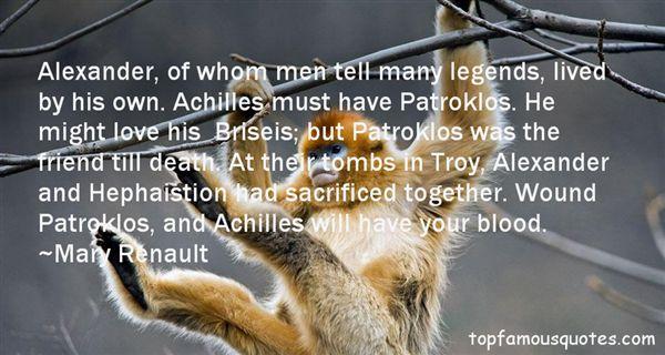 Quotes About Legends Death