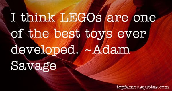 Quotes About Lego Toys
