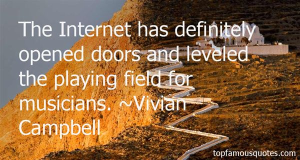 Quotes About Level Playing Field