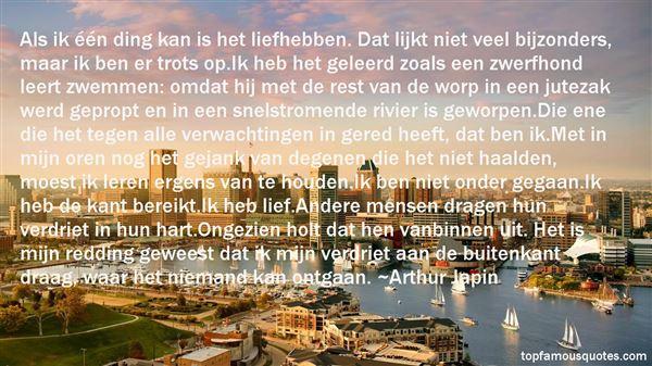 Quotes About Liefhebben