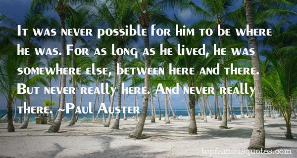 Quotes About Lived