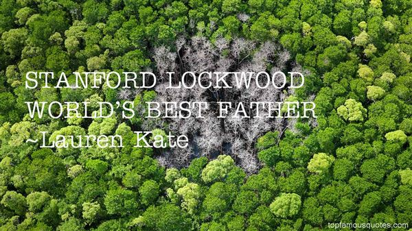 Quotes About Lockwood