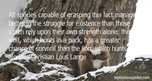 Quotes About Lone Wolf