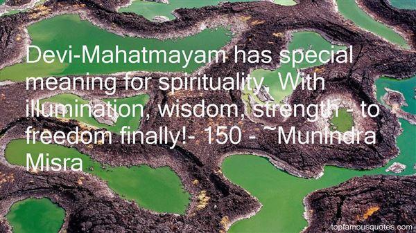 Quotes About Mahatmayam