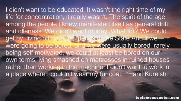 Quotes About Manifested