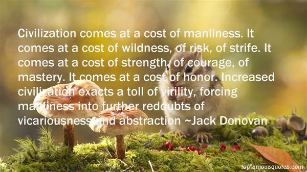 Quotes About Manliness