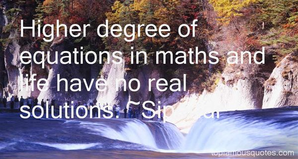 Quotes About Maths And Life
