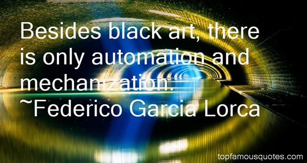 Quotes About Mechanization