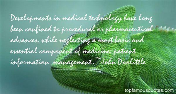 Quotes About Medical Advances