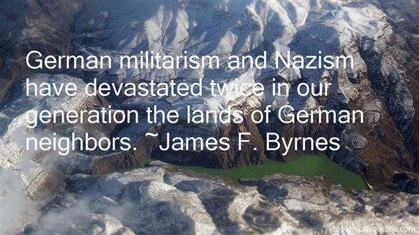 Quotes About Militarism