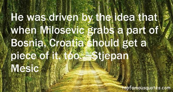 Quotes About Milosevic
